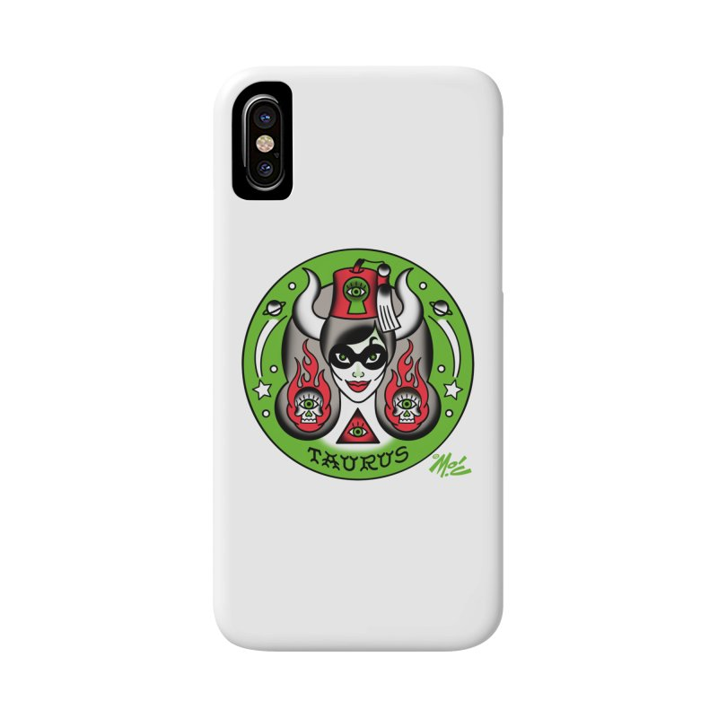 TAURUS! Accessories Phone Case by Mitch O'Connell