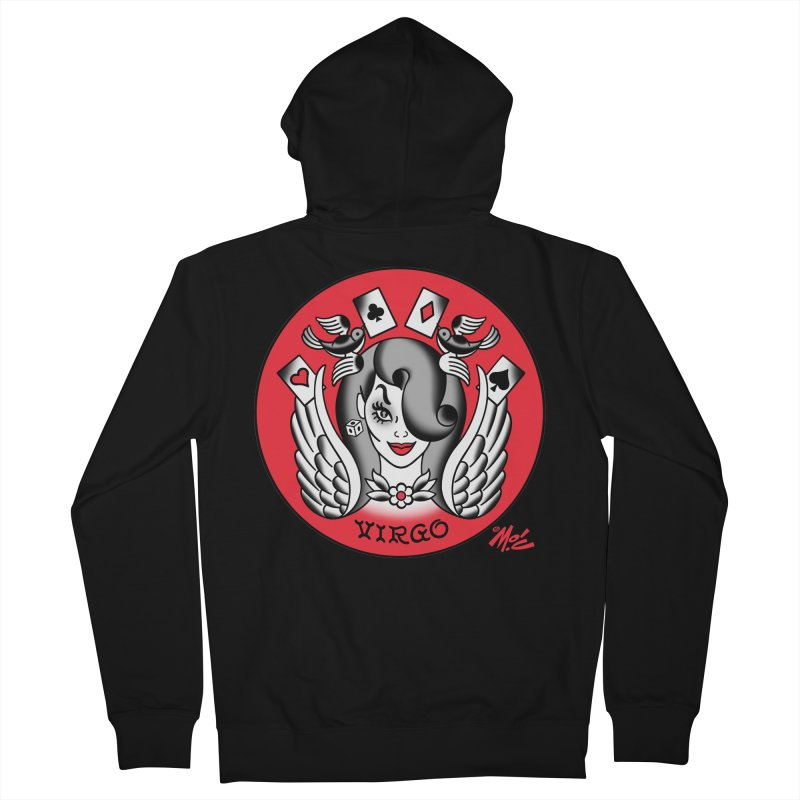 VIRGO! Women's Zip-Up Hoody by Mitch O'Connell