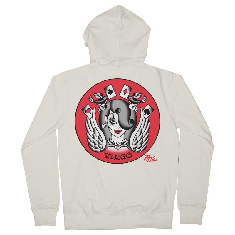 VIRGO! Men's Zip-Up Hoody by Mitch O'Connell