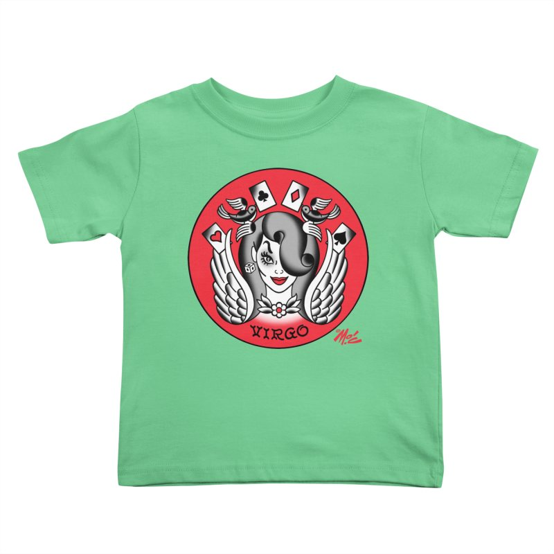 VIRGO! Kids Toddler T-Shirt by Mitch O'Connell