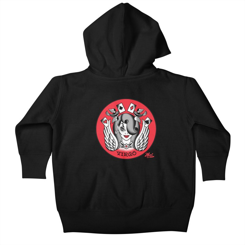 VIRGO! Kids Baby Zip-Up Hoody by Mitch O'Connell