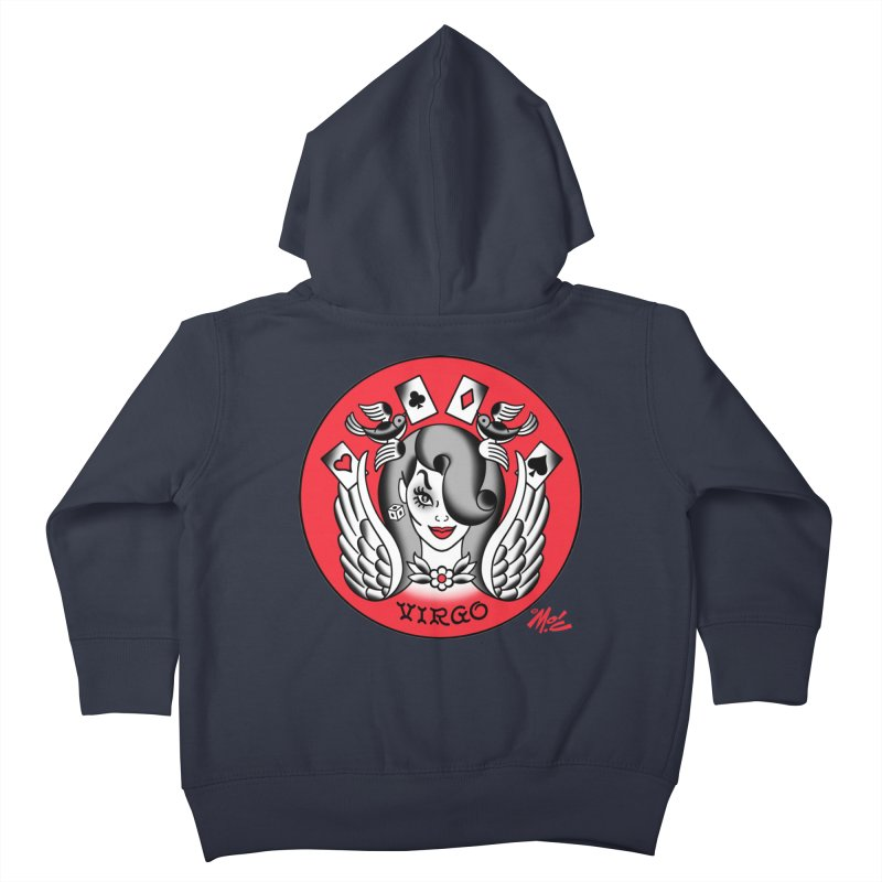 VIRGO! Kids Toddler Zip-Up Hoody by Mitch O'Connell