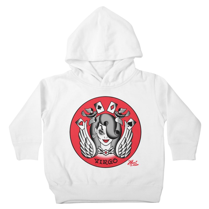 VIRGO! Kids Toddler Pullover Hoody by Mitch O'Connell