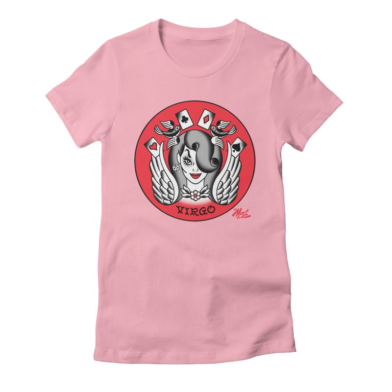 VIRGO! Women's Fitted T-Shirt by Mitch O'Connell