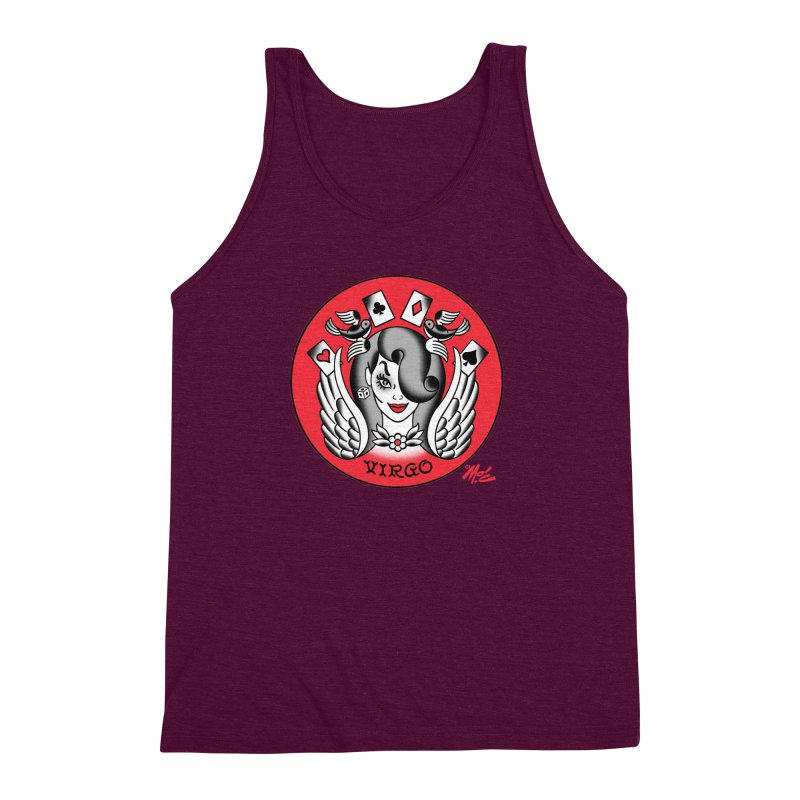 VIRGO! Men's Triblend Tank by Mitch O'Connell