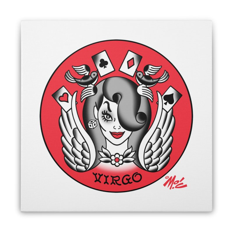 VIRGO! Home Stretched Canvas by Mitch O'Connell