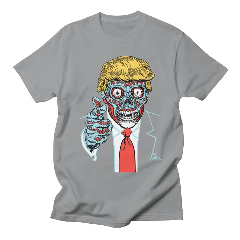 'Trump/They Live' Classic! Men's T-shirt by Mitch O'Connell