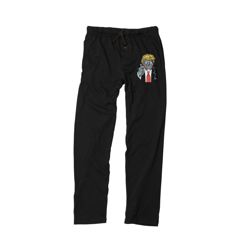 'Trump/They Live' Classic! Men's Lounge Pants by Mitch O'Connell