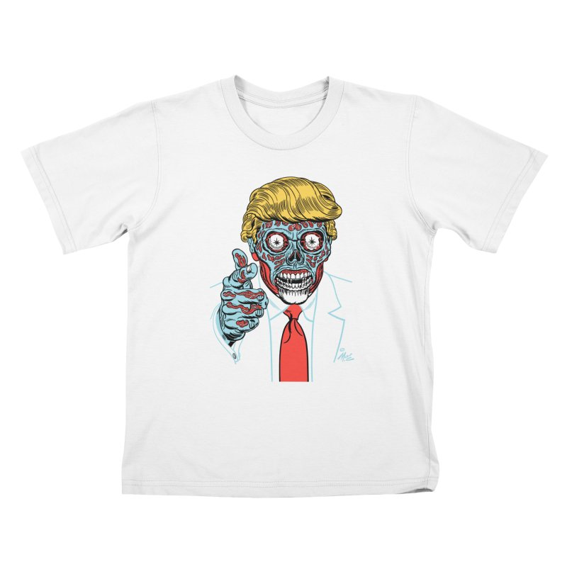 'Trump/They Live' Classic! Kids T-shirt by Mitch O'Connell
