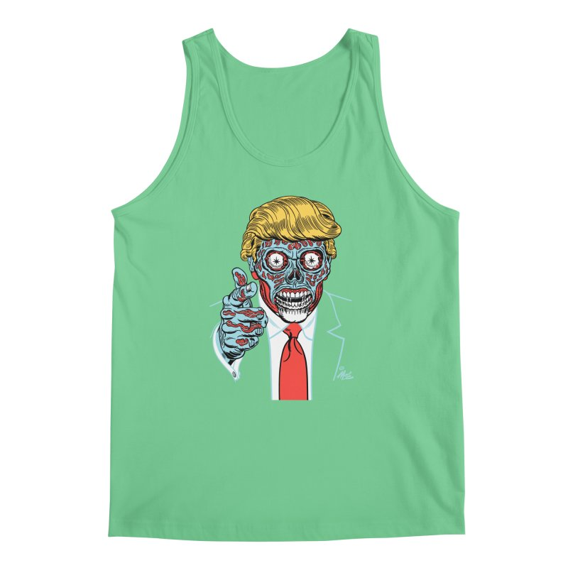 'Trump/They Live' Classic! Men's Tank by Mitch O'Connell