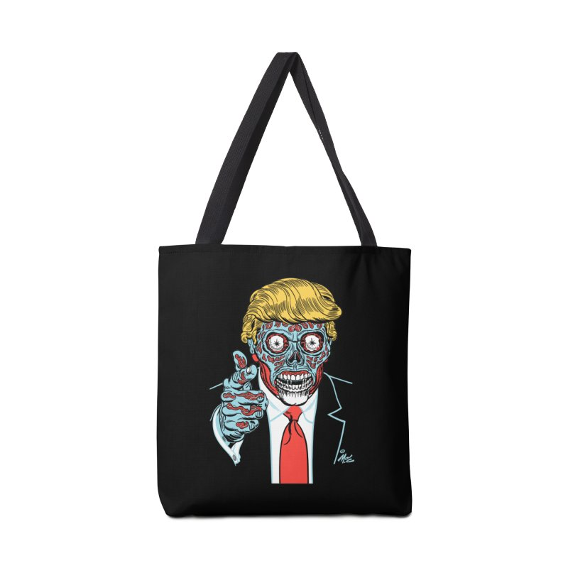 'Trump/They Live' Classic! Accessories Bag by Mitch O'Connell