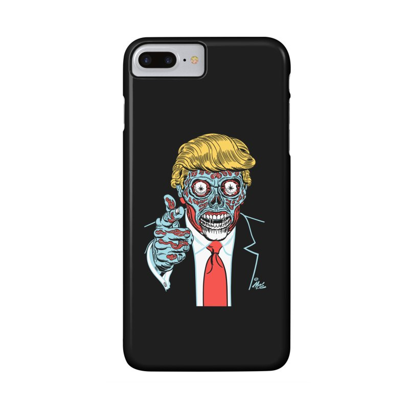 'Trump/They Live' Classic! Accessories Phone Case by Mitch O'Connell