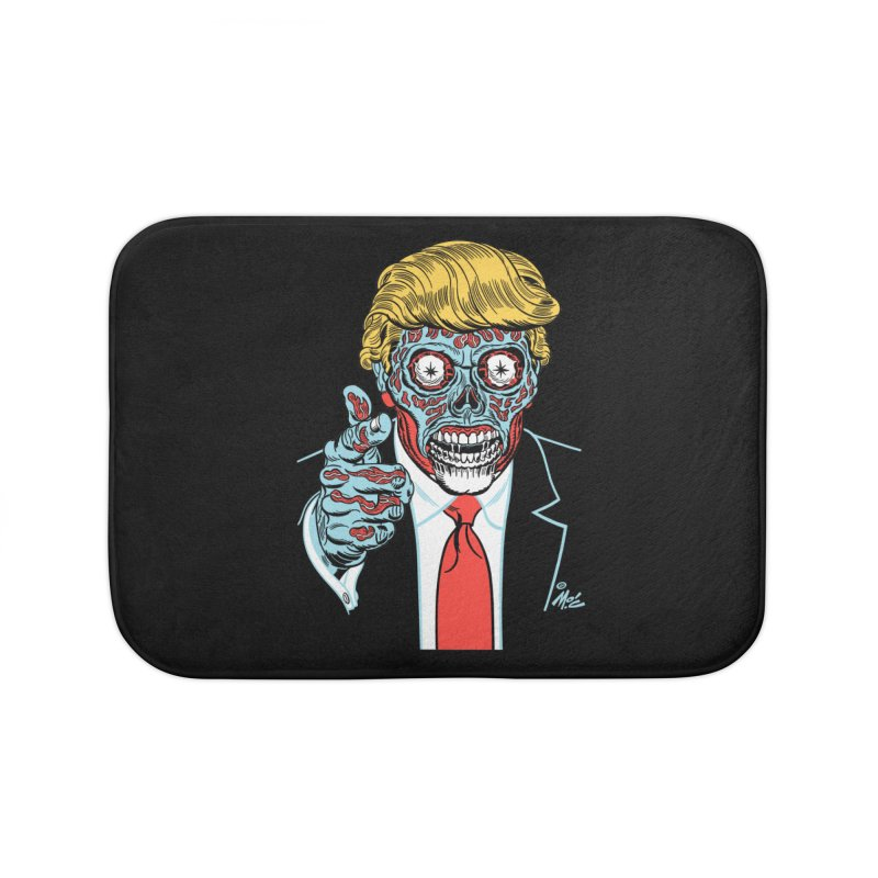 'Trump/They Live' Classic! Home Bath Mat by Mitch O'Connell