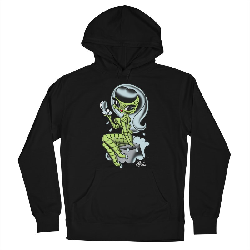 Creature Cutie! Men's French Terry Pullover Hoody by Mitch O'Connell