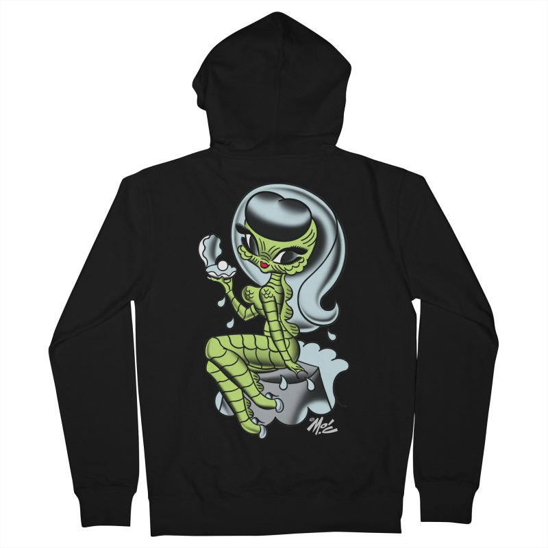 Creature Cutie! Men's Zip-Up Hoody by Mitch O'Connell