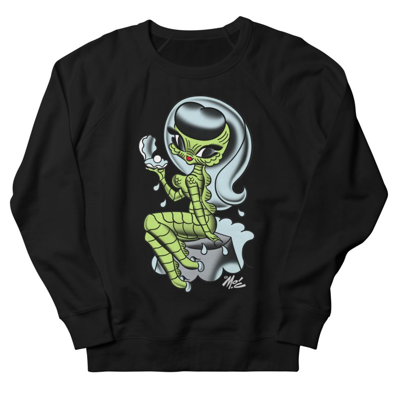 Creature Cutie! Women's French Terry Sweatshirt by Mitch O'Connell
