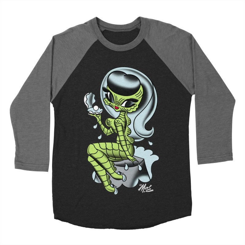 Creature Cutie! Women's Baseball Triblend T-Shirt by Mitch O'Connell