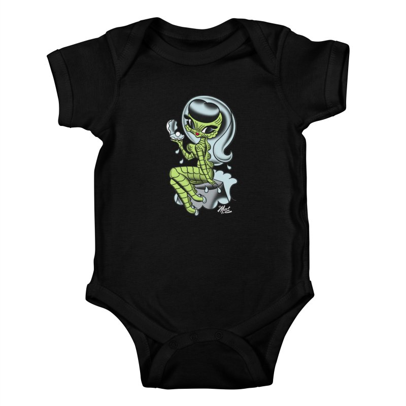 Creature Cutie! Kids Baby Bodysuit by Mitch O'Connell