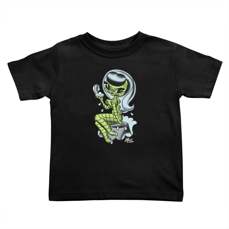 Creature Cutie! Kids Toddler T-Shirt by Mitch O'Connell