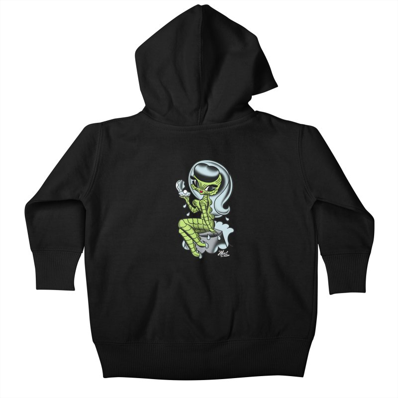 Creature Cutie! Kids Baby Zip-Up Hoody by Mitch O'Connell