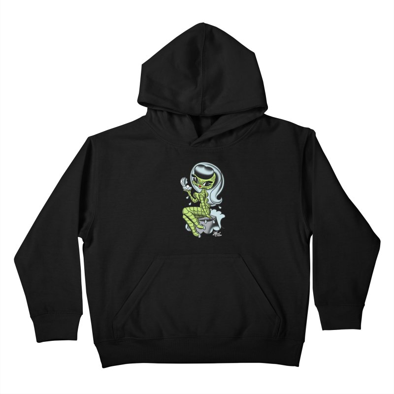 Creature Cutie! Kids Pullover Hoody by Mitch O'Connell