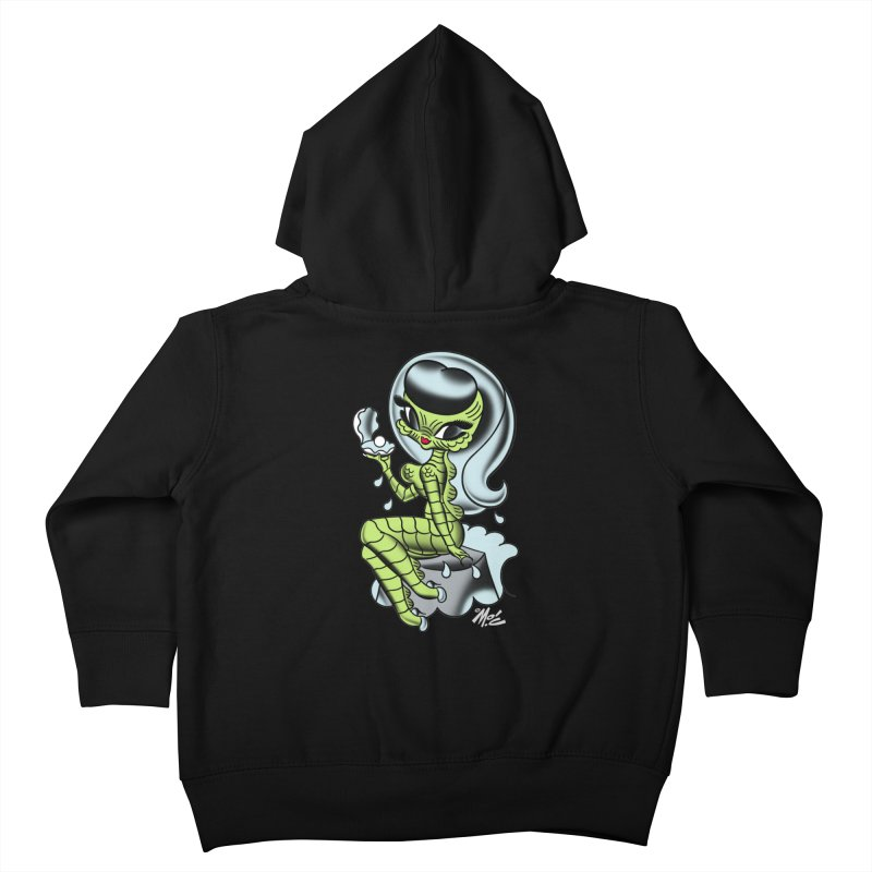 Creature Cutie! Kids Toddler Zip-Up Hoody by Mitch O'Connell