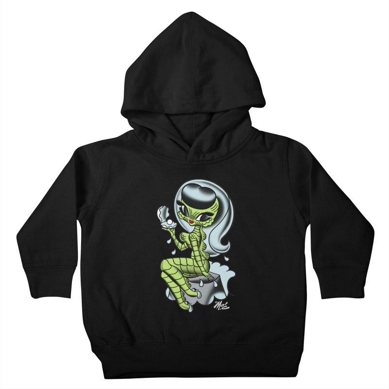 Creature Cutie! Kids Toddler Pullover Hoody by Mitch O'Connell