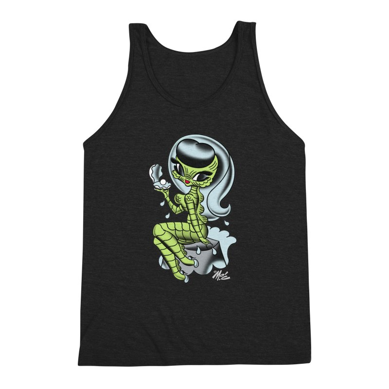 Creature Cutie! Men's Triblend Tank by Mitch O'Connell