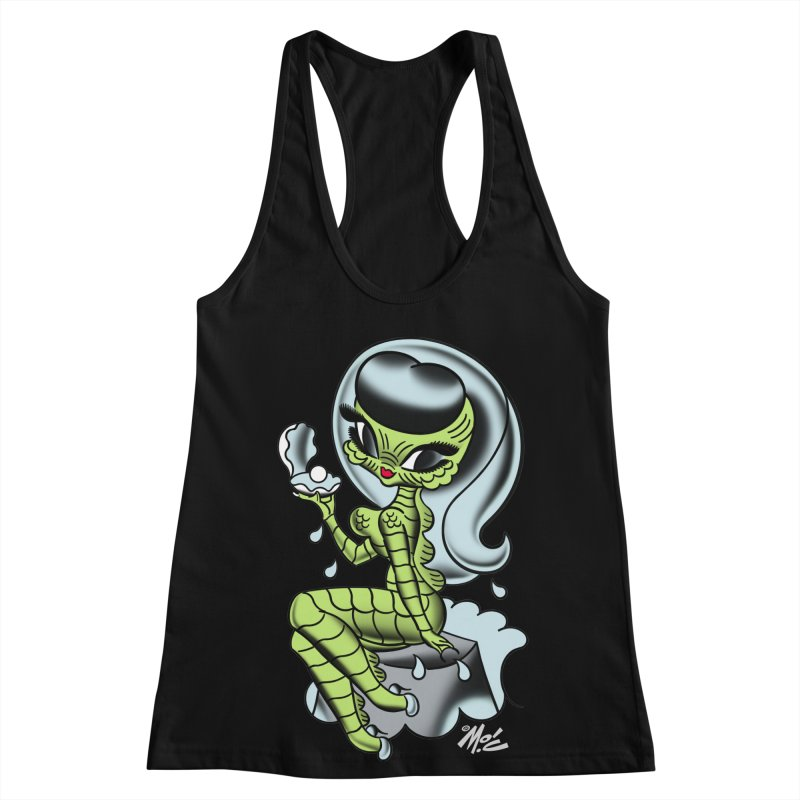 Creature Cutie! Women's Racerback Tank by Mitch O'Connell