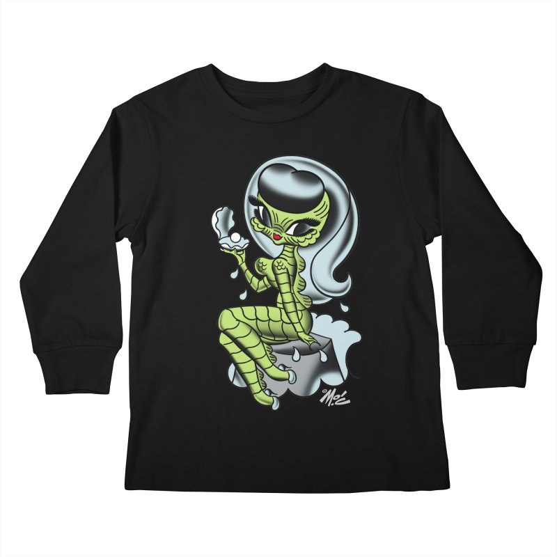 Creature Cutie! Kids Longsleeve T-Shirt by Mitch O'Connell