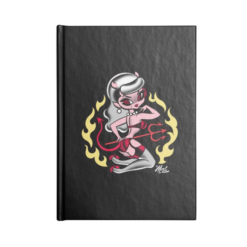 Satan's Sweetheart! Accessories Notebook by Mitch O'Connell