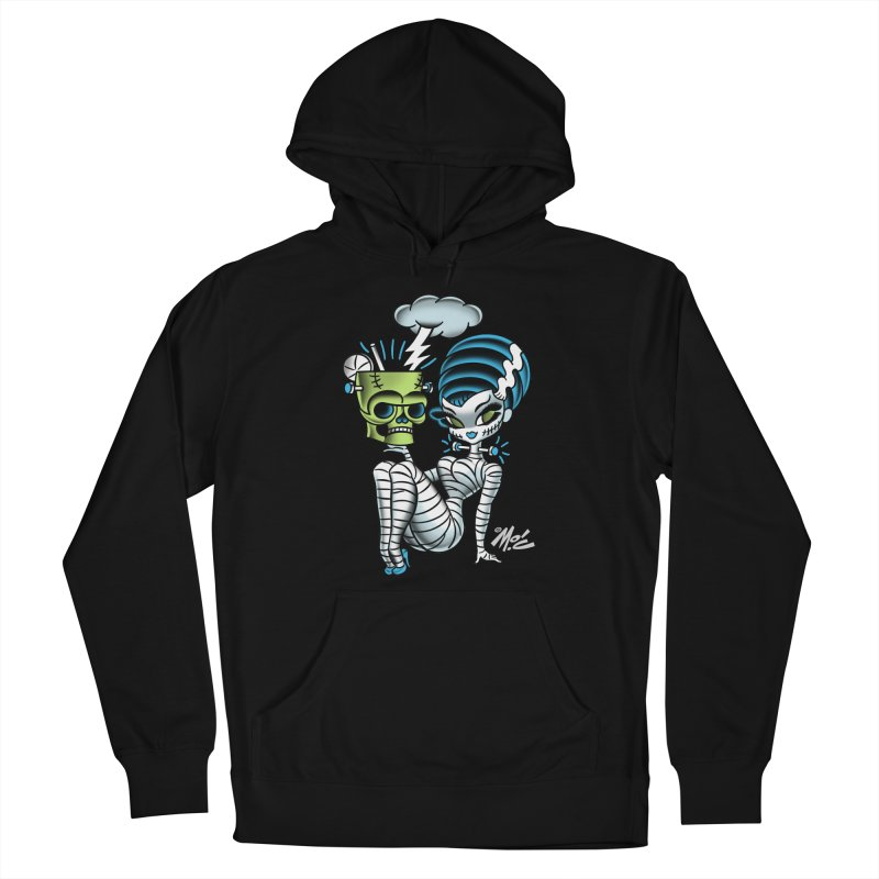 Frankencutie! Men's French Terry Pullover Hoody by Mitch O'Connell