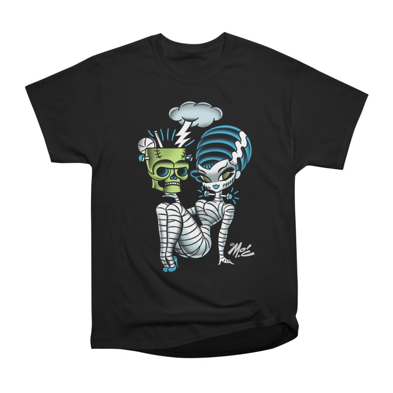 Frankencutie! Women's Heavyweight Unisex T-Shirt by Mitch O'Connell