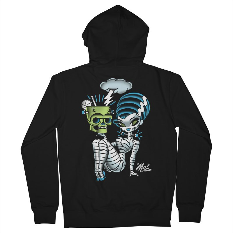Frankencutie! Men's Zip-Up Hoody by Mitch O'Connell