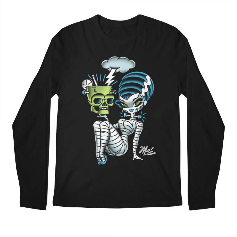 Frankencutie! Men's Longsleeve T-Shirt by Mitch O'Connell