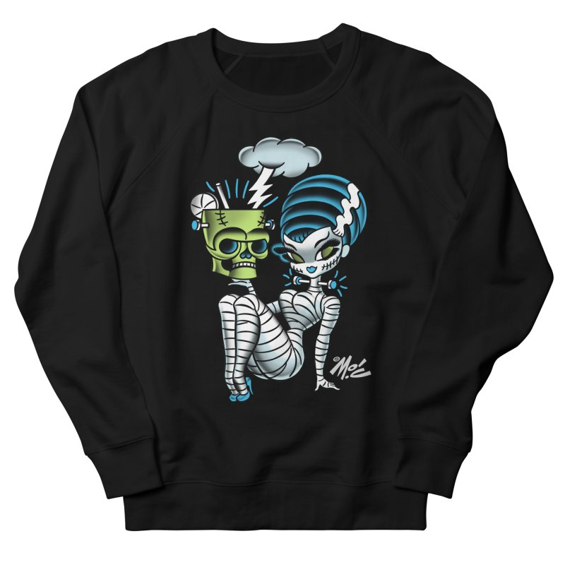 Frankencutie! Women's French Terry Sweatshirt by Mitch O'Connell