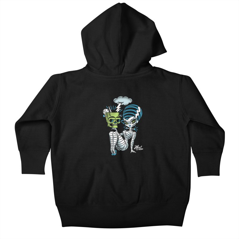 Frankencutie! Kids Baby Zip-Up Hoody by Mitch O'Connell