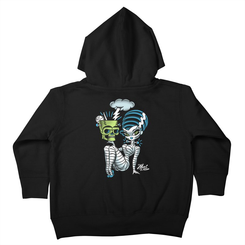 Frankencutie! Kids Toddler Zip-Up Hoody by Mitch O'Connell