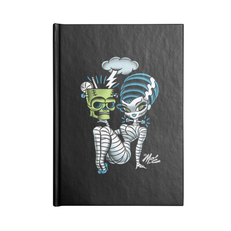 Frankencutie! Accessories Blank Journal Notebook by Mitch O'Connell