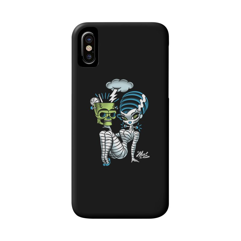 Frankencutie! Accessories Phone Case by Mitch O'Connell