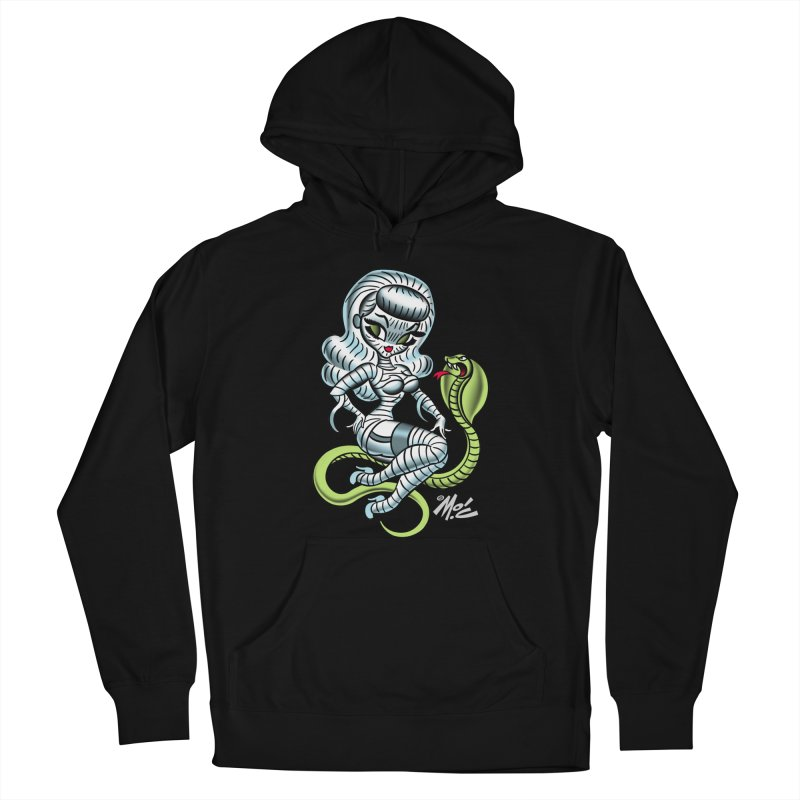 Miss Mummy! Men's French Terry Pullover Hoody by Mitch O'Connell