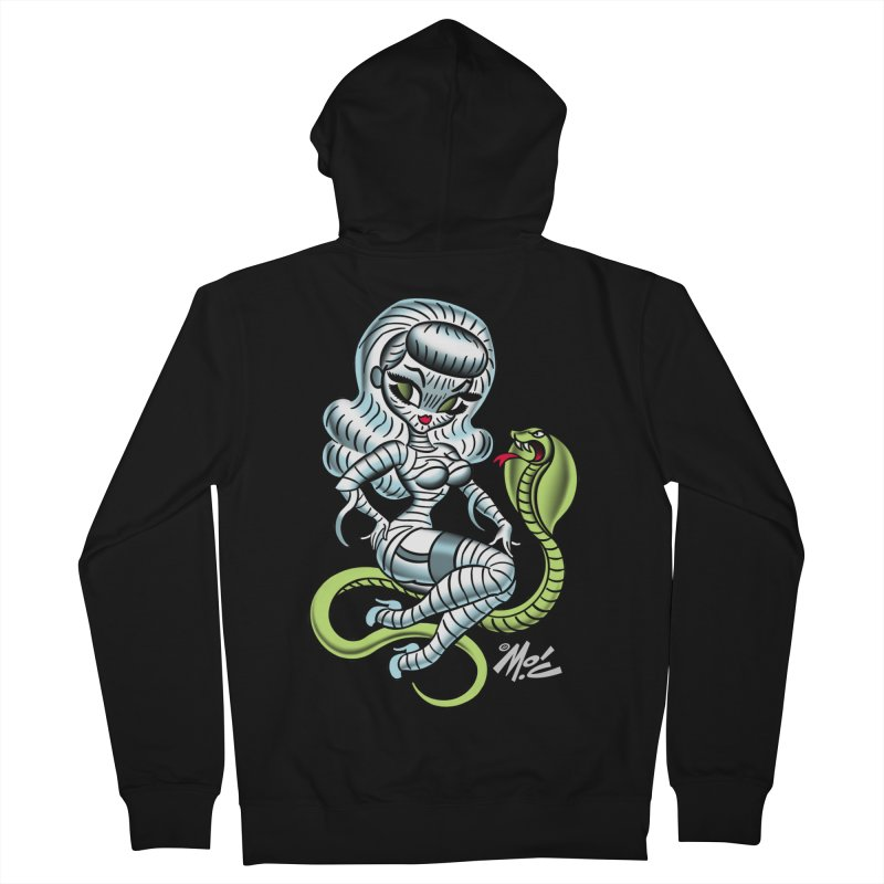 Miss Mummy! Men's Zip-Up Hoody by Mitch O'Connell