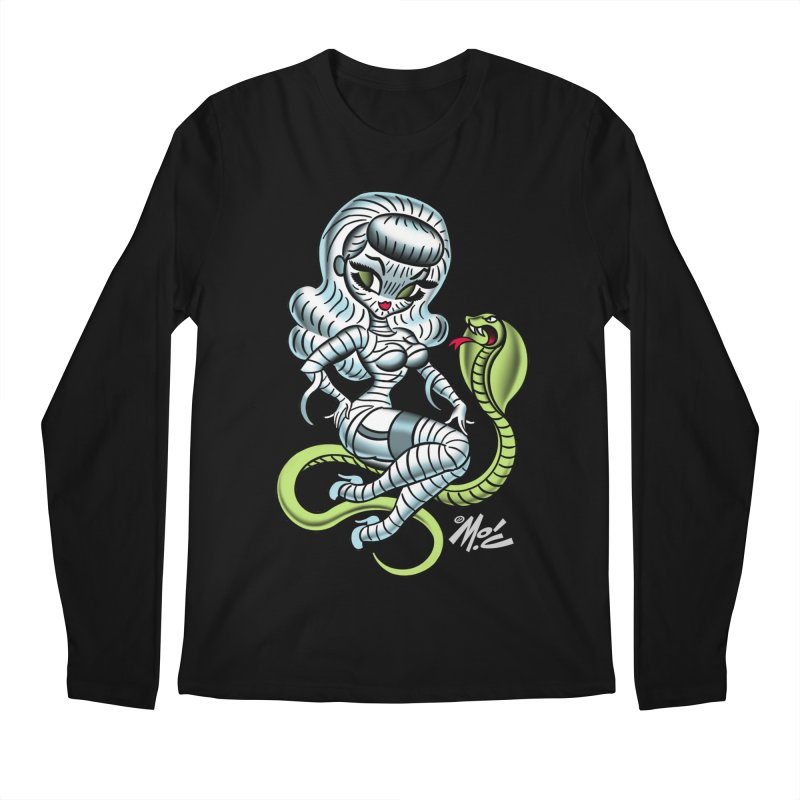 Miss Mummy! Men's Longsleeve T-Shirt by Mitch O'Connell