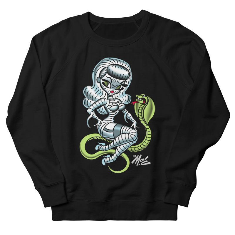 Miss Mummy! Women's French Terry Sweatshirt by Mitch O'Connell
