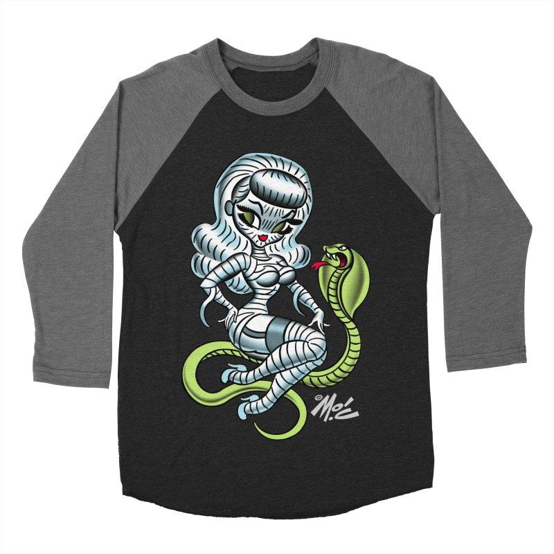 Miss Mummy! Men's Baseball Triblend T-Shirt by Mitch O'Connell