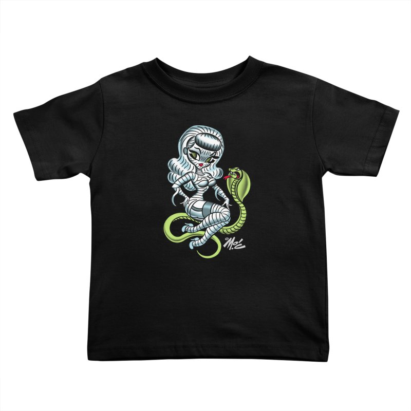 Miss Mummy! Kids Toddler T-Shirt by Mitch O'Connell