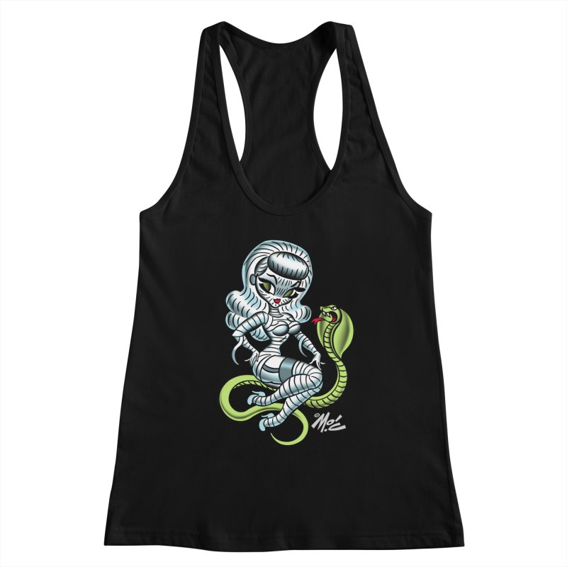 Miss Mummy! Women's Racerback Tank by Mitch O'Connell