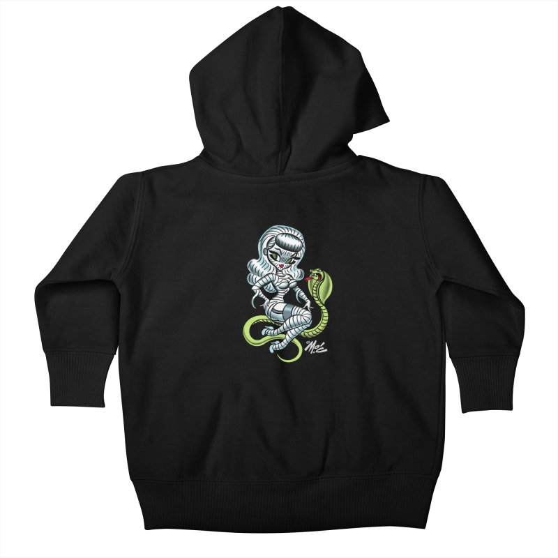 Miss Mummy! Kids Baby Zip-Up Hoody by Mitch O'Connell