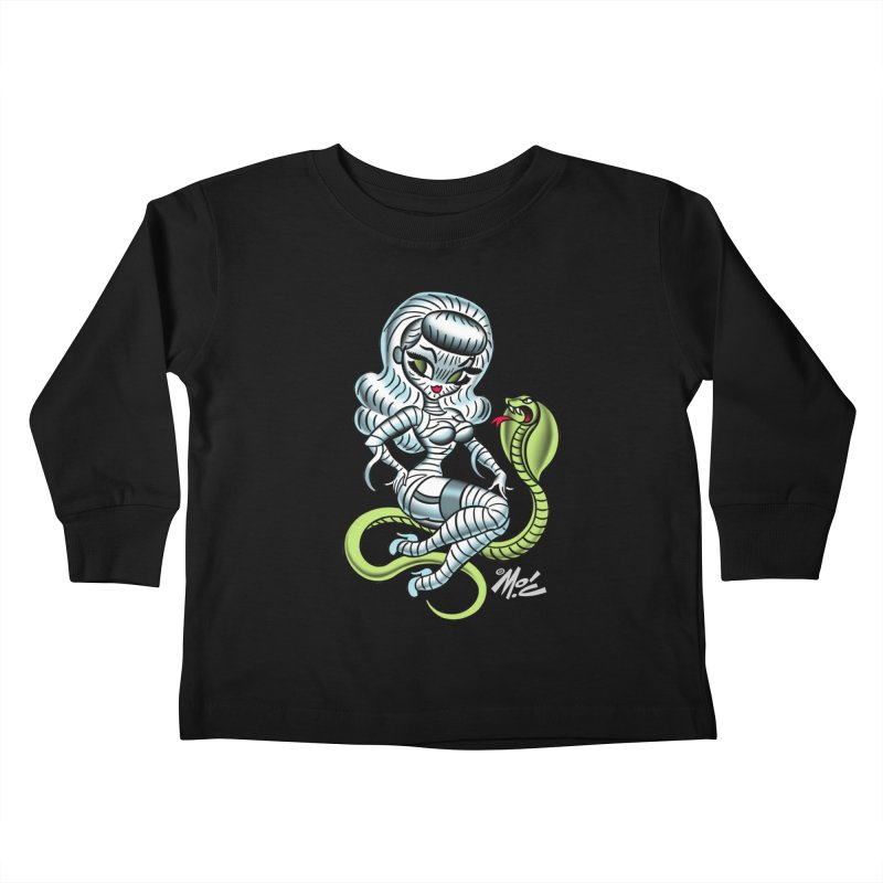 Miss Mummy! Kids Toddler Longsleeve T-Shirt by Mitch O'Connell