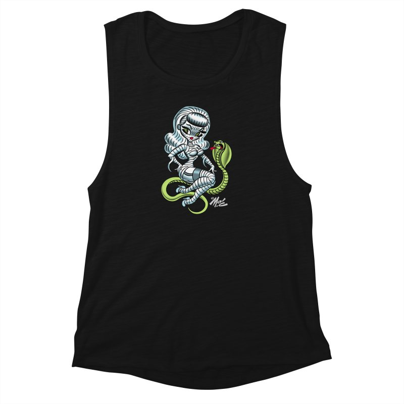 Miss Mummy! Women's Muscle Tank by Mitch O'Connell